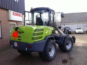 Terex Greenline TL100 Shovel - John Breider Mechanisatie Groningen