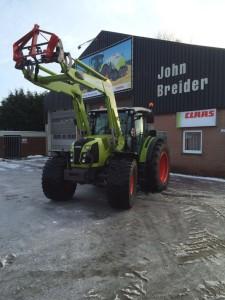 CLAAS Arion 410 stage 4 tractor - John Breider Mechanisatie Groningen IMG-20160120-WA0003