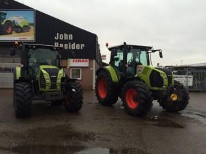 CLAAS ARION 530 T3b tractor - John Breider Mechanisatie Groningen IMG-20160129-WA0012